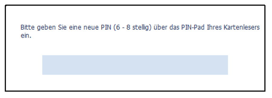 Signatur-PIN ändern