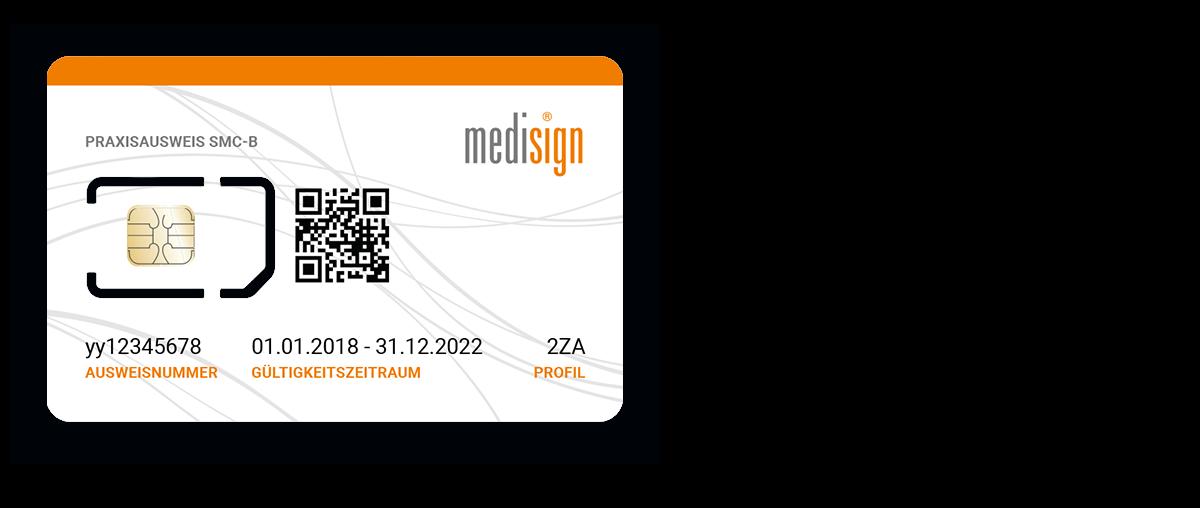 medisign SMC-B (Praxisausweis)
