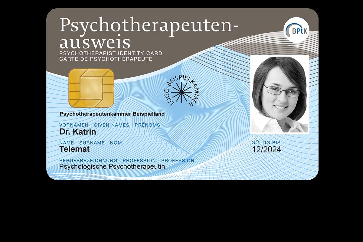 Elektronischer Psychotherapeutenausweis (ePTA)