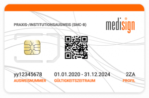 Praxisausweis SMC-B