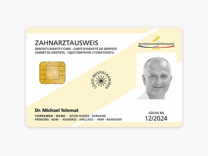 medisign eZAA Zahnarztausweis