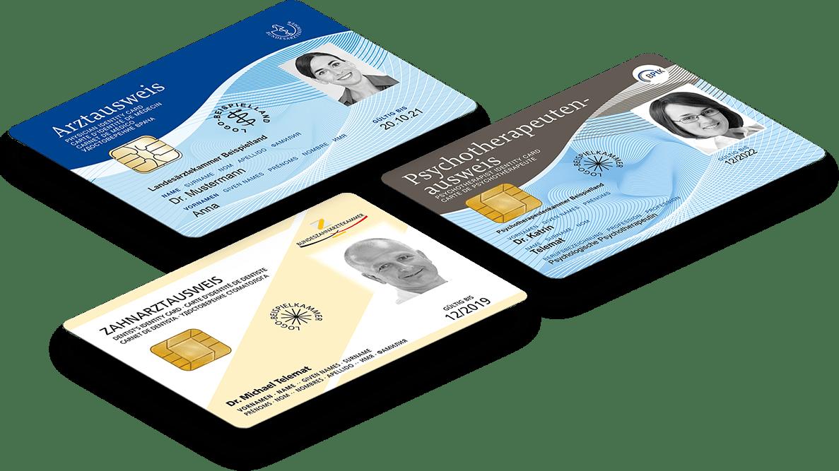 In Kürze bei medisign erhältlich: Der elektronische Heilberufsausweis für Praxen.