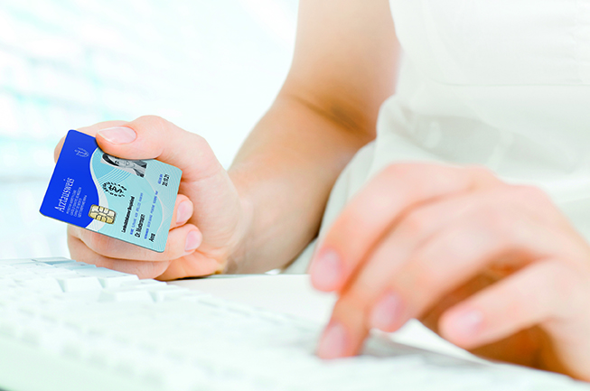 medisign eHBA mit Tastatur